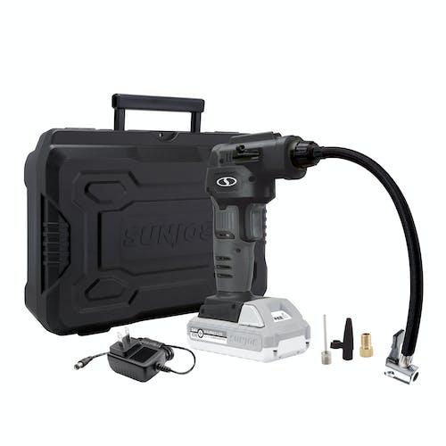 24V-AJC-LTE-BLK Cordless 24-Volt air compressor