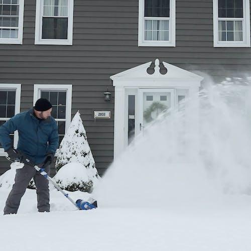 24V-SS10-XR-SJB cordless snow shovel