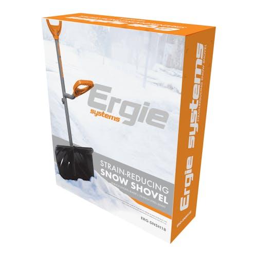 ergiesystem ergonomic snow shovel