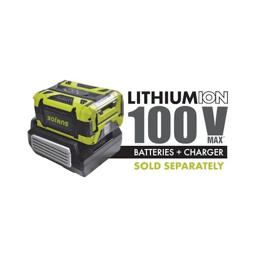 iON100V-24HT-CT 100 volt cordless hedge trimmer