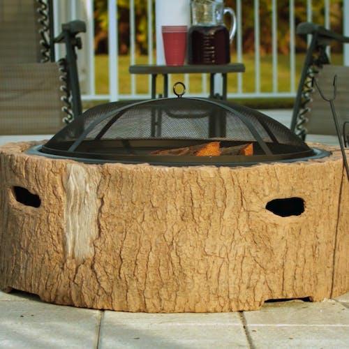 martha stewart fire pit