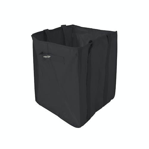 martha leaf bag black