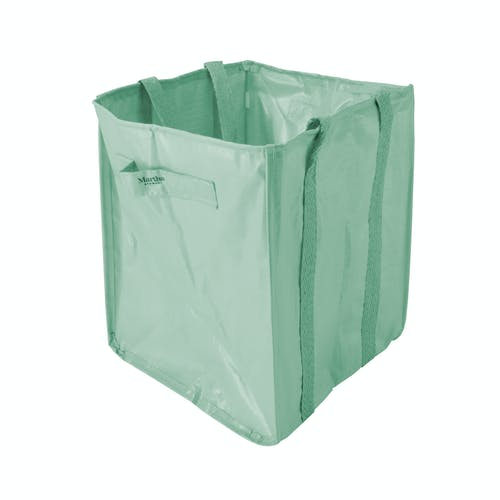 snow joe martha stewart leaf bag mint