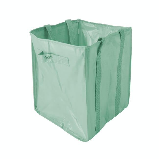 snow joe martha stewart leaf bag mint