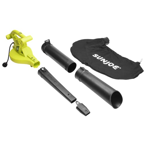 sbj603e electric leaf blower and mulcher