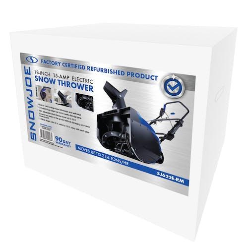 sj622e-rm electric snowblower box