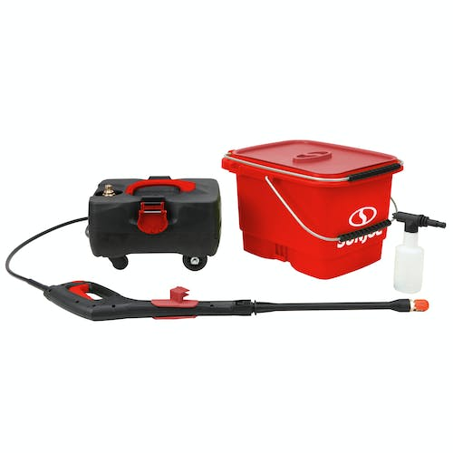 spx6000c-red cordless pressure washer