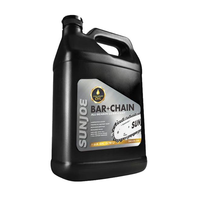 Sun Joe SWJ-OIL-GAL Premium Bar, Chain and Sprocket Oil