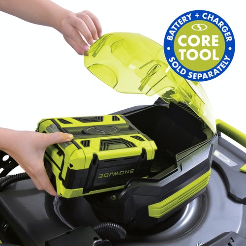 iON100V-21LM-CT cordless lawn mower core tool