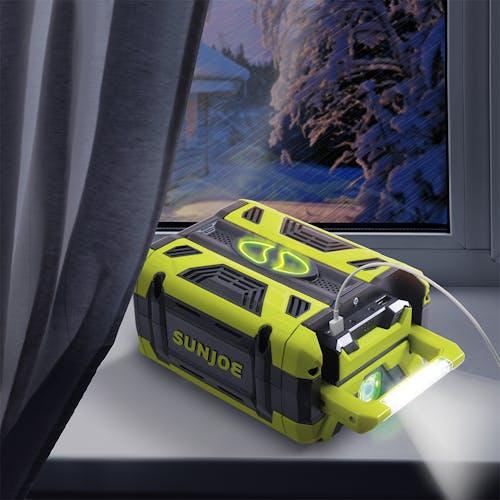 ion100v-5amp battery for snow joe and sun joe 100v products