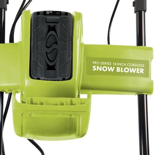 ion18sb-pro-grn cordless snowblower