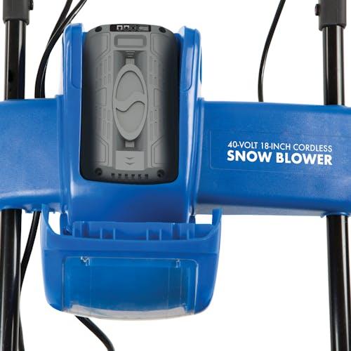 ion18sb cordless snowjoe snowblower