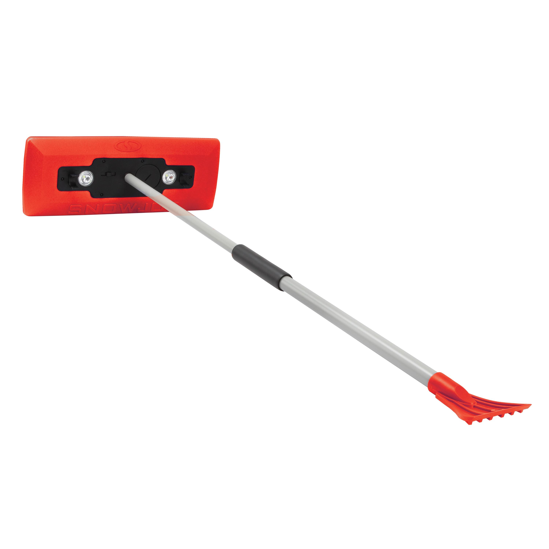 Refurbished A Snow Joe illum-n-Broom LED lighted 4-in-1 Snow Broom Ice Scraper